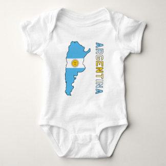 Argentina Body Para Bebê