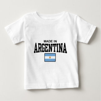 Argentina Camiseta Para Bebê