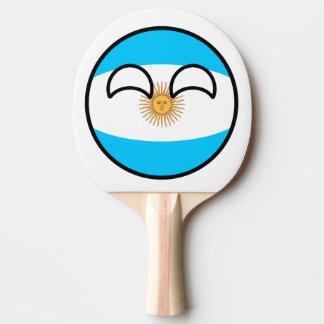 Argentina Countryball Raquete De Ping Pong