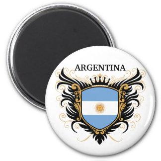 Argentina [personalize] ímã redondo 5.08cm