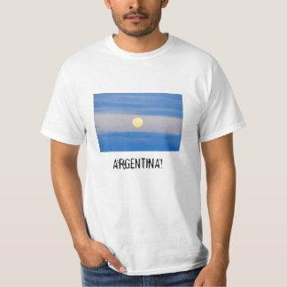 Argentina! Série do campeonato do mundo por T-shirt