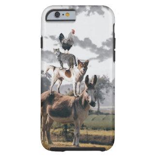 Argumento animal engraçado para iPhone6/iPhone6s Capa Tough Para iPhone 6