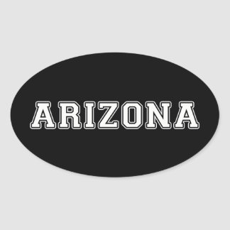 Arizona Adesivo Oval