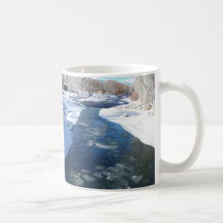 Arkansas River gelado Caneca De Café