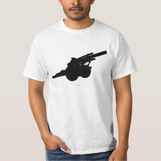 Arma da artilharia camiseta