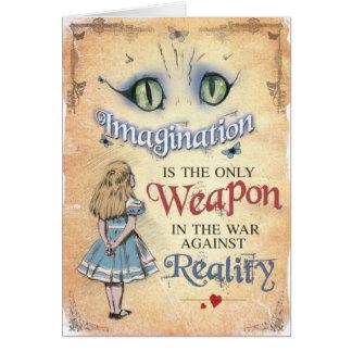 Arma da imaginação, Alice no cartão do país das