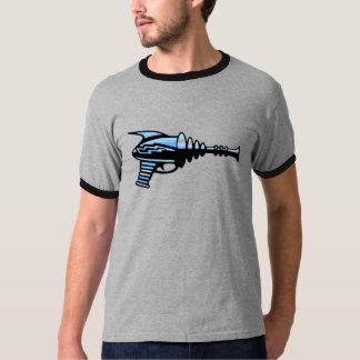 Arma de raio retro do laser, ficção científica da t-shirts