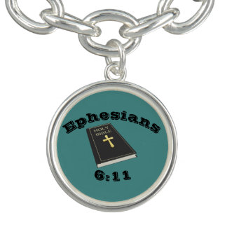 Armadura do bracelete w/Bible do encanto do deus