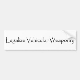 Armamento Adesivo Para Carro