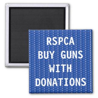 Armas do comprar do ímã RSPCA com doações Ímã Quadrado