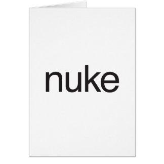 armas nucleares cartões