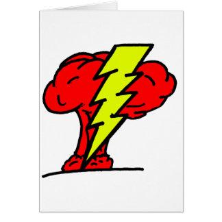 Armas nucleares cartão comemorativo