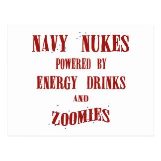 Armas nucleares do marinho pstas por bebidas e por cartão postal