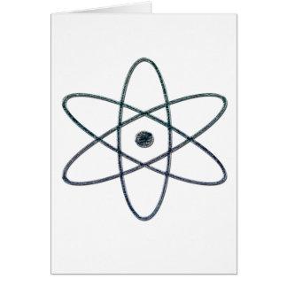 ARMAS NUCLEARES (prata) Cartão