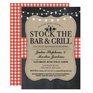 Armazene o convite do bar & da festa de noivado da