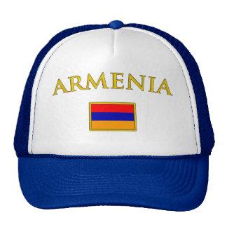 Arménia dourada boné