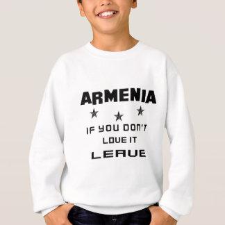 Arménia se você não a ama, sae agasalho