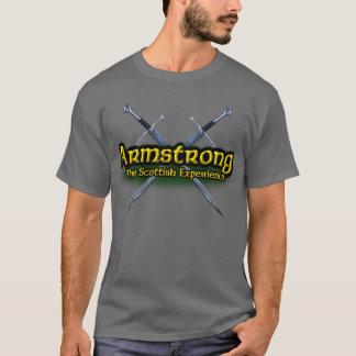 Armstrong o clã escocês da experiência camiseta