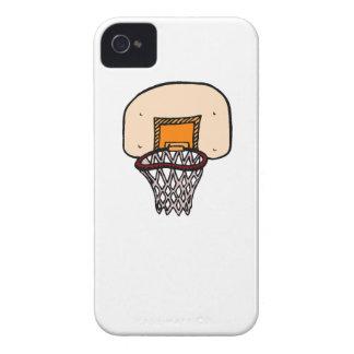 Aro de basquetebol dos desenhos animados iPhone 4 capa