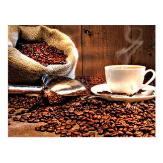 Aroma do café cartão postal
