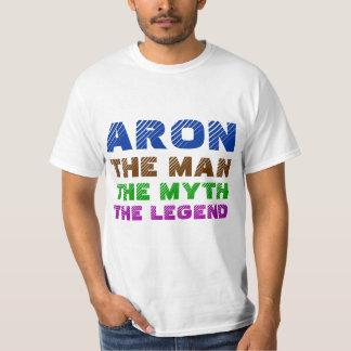 Aron o homem, o mito, a legenda t-shirt