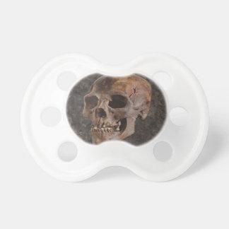Arqueologia II - Crânio no fundo do Pedra-efeito Chupeta