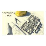 Arquitecto - Constructor - Tarjeta de Visita Cartão De Visita