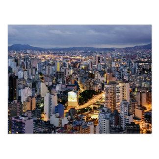 Arquitectura da cidade 2 de Sao Paulo Cartão Postal