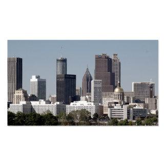 Arquitectura da cidade de Atlanta Geórgia Cartoes De Visitas
