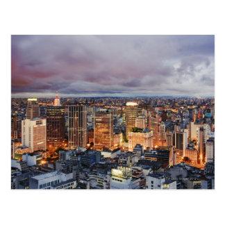 Arquitectura da cidade de Sao Paulo Cartão Postal
