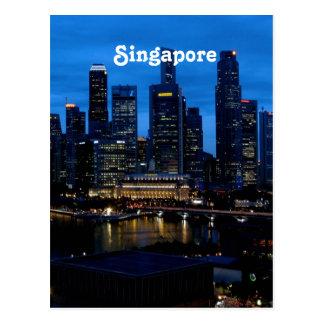 Arquitectura da cidade de Singapore Cartão Postal