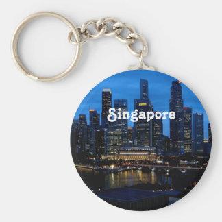 Arquitectura da cidade de Singapore Chaveiro