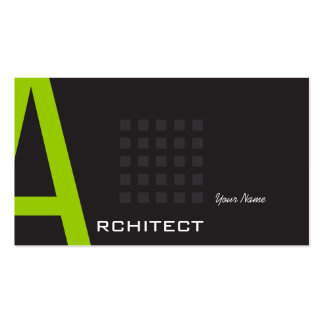 Arquiteto Modelo Cartoes De Visitas
