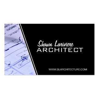 Arquiteto - cartões de visitas