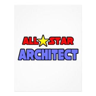Arquiteto de All Star Panfletos Coloridos