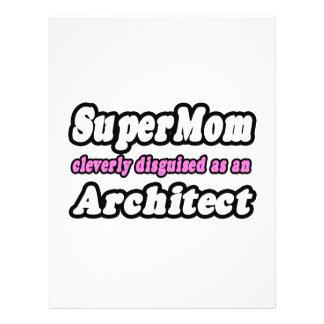 Arquiteto do SuperMom… Modelo De Panfletos