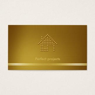 Arquiteto   moderno cartão de visitas