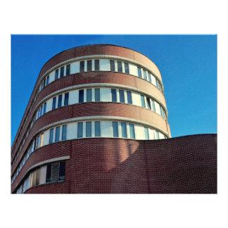 Arquitetura alemão modelos de panfleto