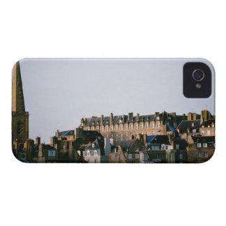 Arquitetura antiquado em Brittany Capa Para iPhone 4 Case-Mate