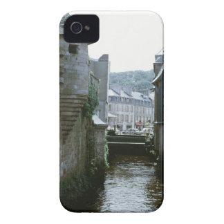 Arquitetura antiquado na cidade do canal, capa para iPhone