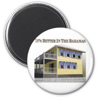 Arquitetura baamiana ímã redondo 5.08cm