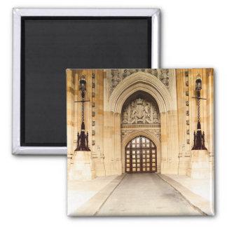 Arquitetura britânica da porta do parlamento ímã quadrado