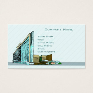 Arquitetura Cartão De Visitas