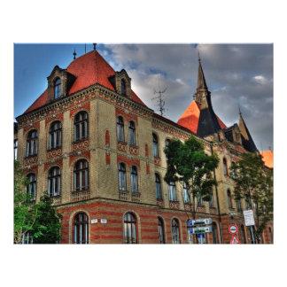 Arquitetura de Bratislava Panfletos Personalizado
