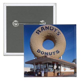 Arquitetura de Califórnia das rosquinhas de Randy Bóton Quadrado 5.08cm