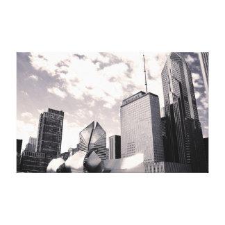Arquitetura de Chicago - canvas