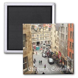 Arquitetura de Edimburgo, Scotland Ímã Quadrado