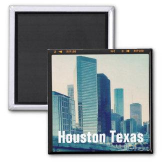 Arquitetura de Houston Texas (ímã) Ímã Quadrado