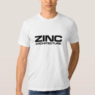 arquitetura do zinco simples tshirt