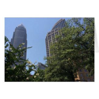 Arquitetura em North Carolina, América, cartão